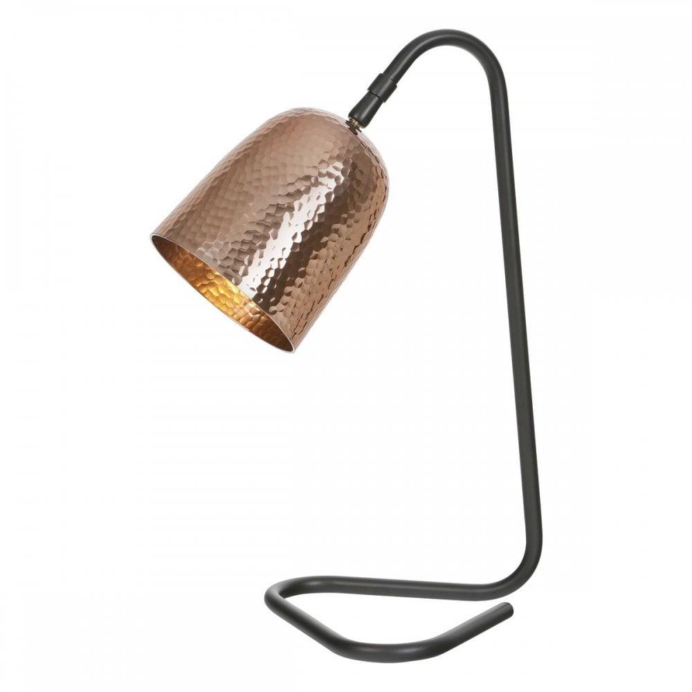Merlin Desk Lamp In Copper Black