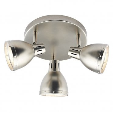 CP LIGHTING & INTERIORS Tusk 3 Spot Plate in Antique Chrome