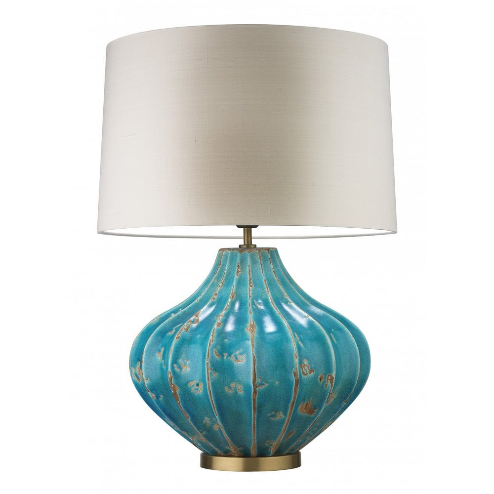 Turquoise lamp, Table lamp