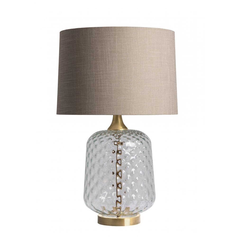 Risco Clear Table Lamp Shade