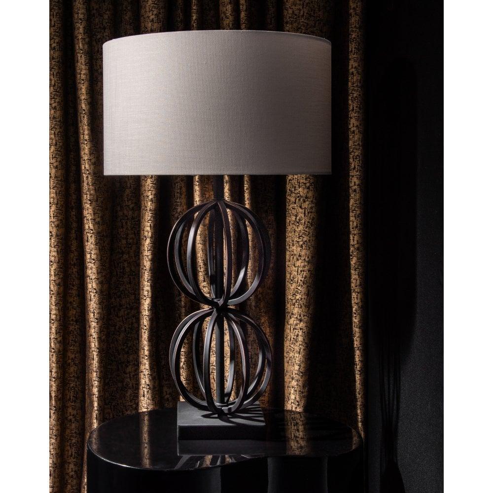 Rollo Antique Bronze Table Lamp– House
