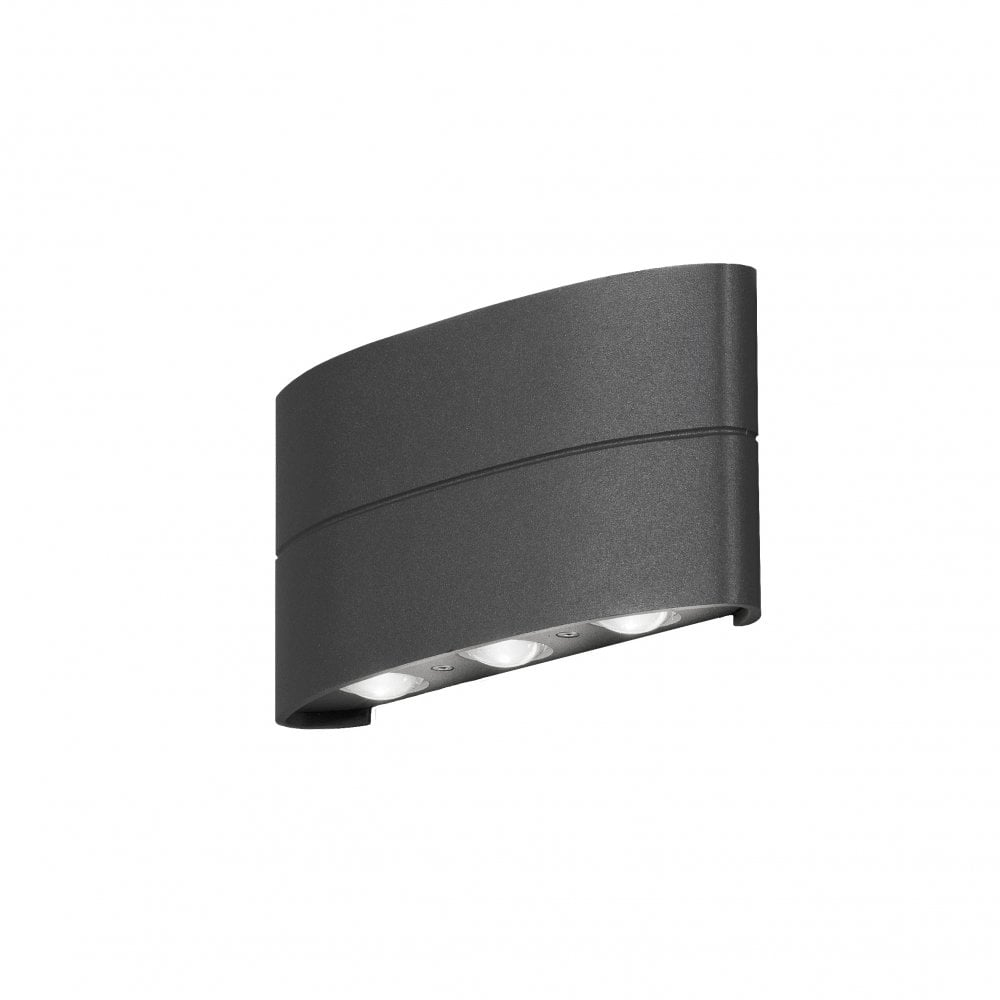 the best attitude db1f6 d03c3 OUTDOOR LIVING Anthracite Grey Exterior Wall Light