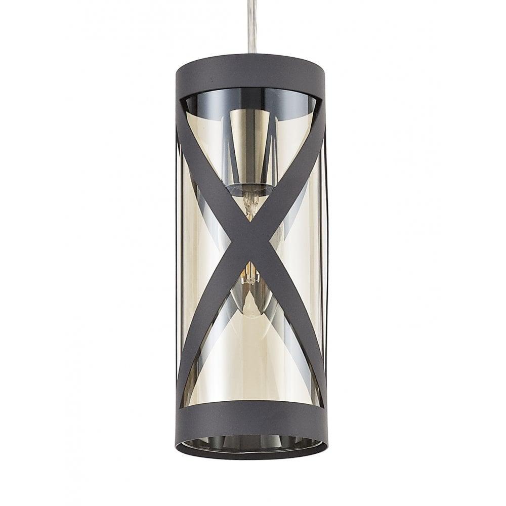 Desire Lighting Co Rolo Matt Grey 3 Light Pendant Interior Lighting From Cp Lighting Interiors Uk