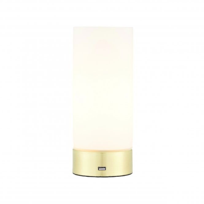 Dora Br Touch Usb Table Lamp