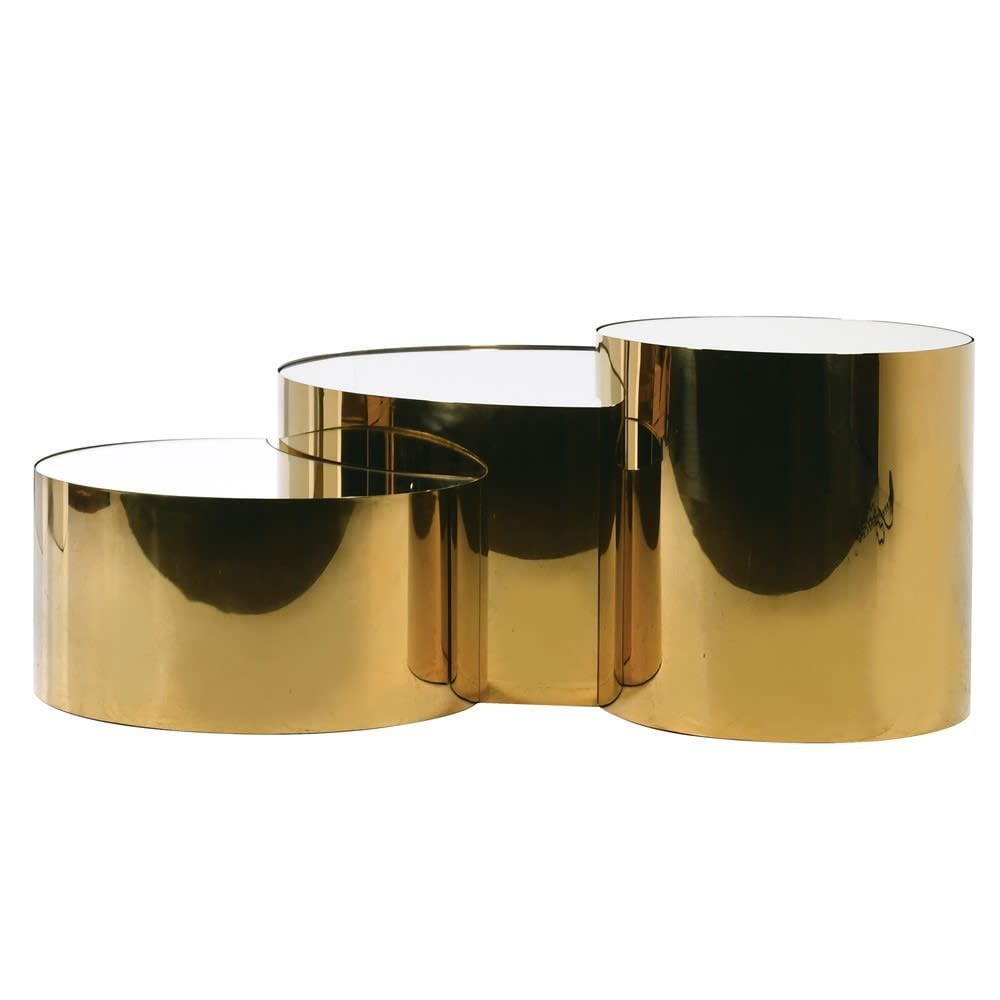 Westminster Gold Mirror Coffee Table Furniture From Cp Lighting Interiors Uk