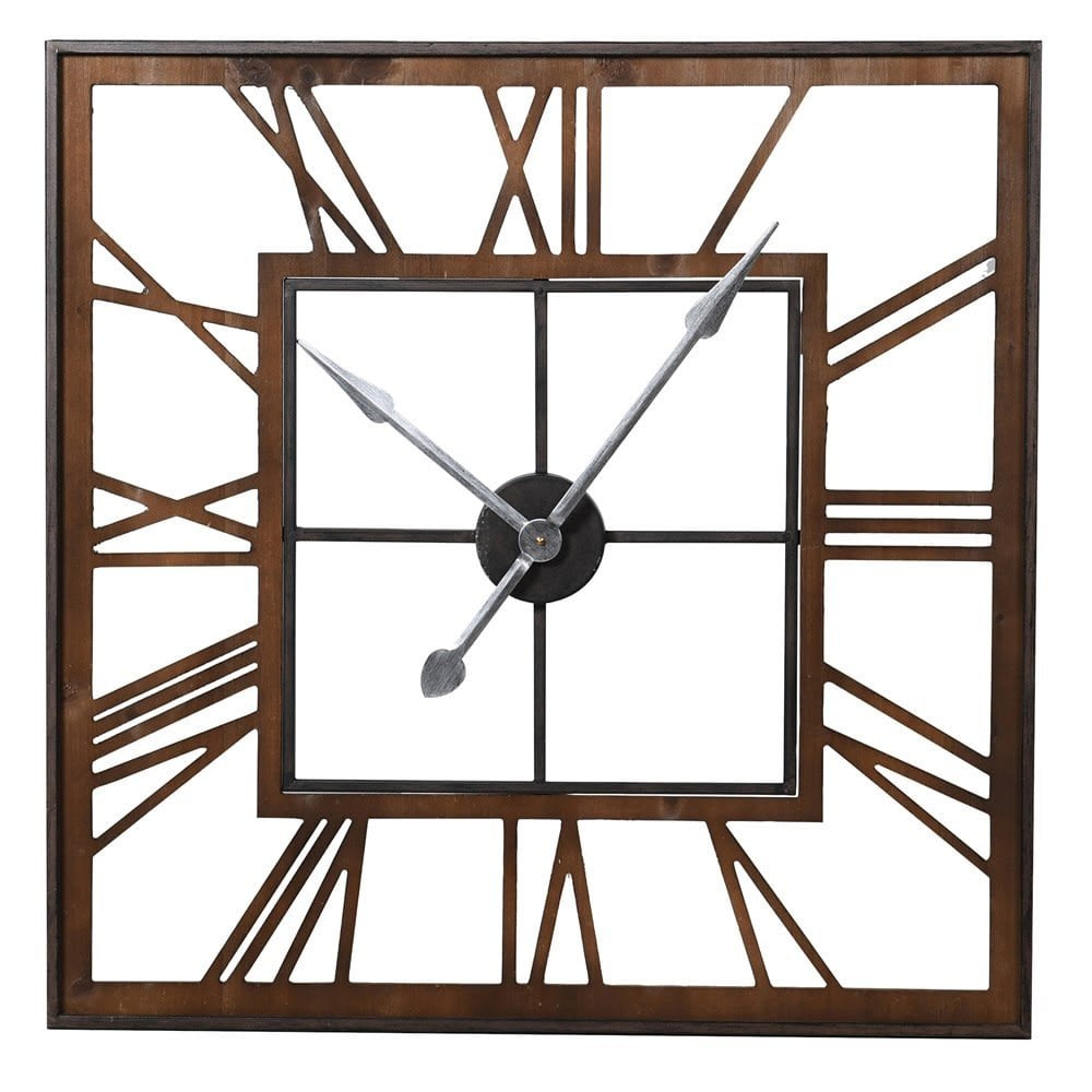 Westminster Square Skeleton Wall Clock Clocks From Cp Lighting Interiors Uk