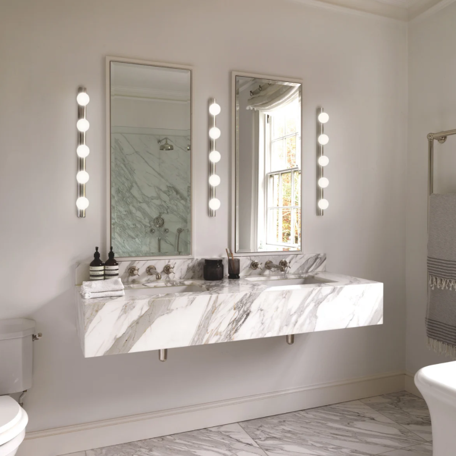 How to light your bathroom...